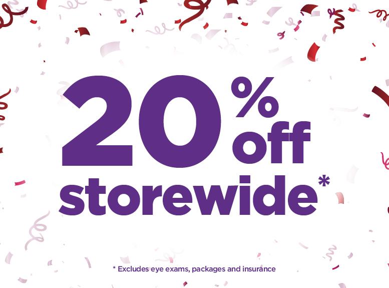 20% storwide at Laubman & Pank